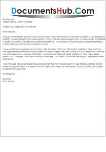 Cover Letter For New Graduate from documentshub.com